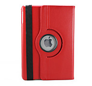 cheap -Case For iPad Air with Stand 360° Rotation Full Body Cases Solid Color PU Leather for iPad Air