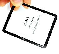 Fotga Premium LCD Screen Panel Protector Glass for Canon EOS 1000D