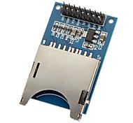 Недорогие -чтение и запись moduld SD-карты слот гнездо для чтения (для arduino) mcu