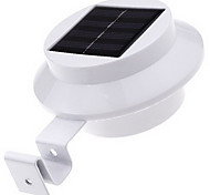Waterproof Solar LED Light Gutter Fence Mounting Outdoor Night Security Lighting Garden Yard Wall Lamp