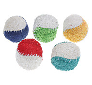 Dog Toy Pet Toys Ball Teeth Cleaning Toy Loofahs & Sponges Tennis Ball Textile For Pets
