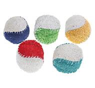 Недорогие -Игрушка для собак Игрушки для животных Шарообразные Игрушка для очистки зубов Мочалки и губки Мячи для тенниса Для домашних животных