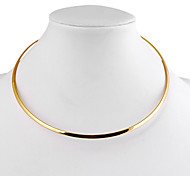 cheap -Women's Choker Necklace - Simple Style Circle Geometric Necklace For Daily Casual