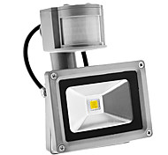 cheap -PIR 10W 900LM Outdoor Motion Sensor Day Night 6000K Cool White Light LED Flood Light (AC85-265V)
