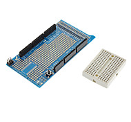 Прототип щит protoshield v3 платы расширения с мини макетной плате для (для Arduino) мега