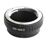 EMOLUX  Minolta MD MC lens to Micro 4/3 Adapter  E-P1 E-P2 E-P3 G1 GF1 GH1 G2 GF2 GH2 G3 GF3