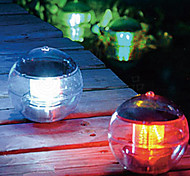 cheap -Solar Power Changing Color LED Floating Light Ball Lake Pond Pool Lamp (CIS-57230)