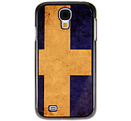 cheap -For Samsung Galaxy Case Pattern Case Back Cover Case Flag PC Samsung S4