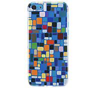 cheap -Colorful Squares Pattern Hard Case For iPhone 7 7 Plus 6s 6 Plus SE 5s 5c 5 4s 4