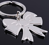 Personalized Engraved Gift Bowknot Shaped Keychain