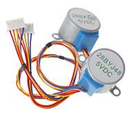 Недорогие -DC 5V 28ybj-48 шаговый двигатель для (для Arduino) ((работает с официальным (для Arduino) платы / 2 шт)