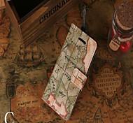Недорогие -iphone 7 плюс роскошь крокодиловой шаблон бумажник случай бумажника кожаный чехол для Iphone 6с 6 плюс SE 5с 5с 5
