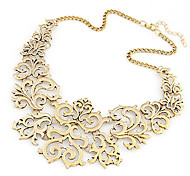 Women's Collar Necklace Statement Necklaces Alloy Costume Jewelry Fashion European Jewelry For Party Daily