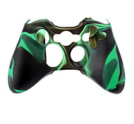 cheap -Wireless Controller Silicone Case for Xbox360(Green)