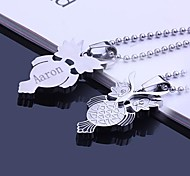 cheap -Personalized Gift Necklaces Stainless Steel Unisex Business Classic Holiday Gift