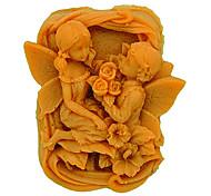 Недорогие -1pc экологически чистые для пирога / для печенья силиконовые формы для выпечки плесени