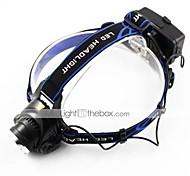 Headlamps / Bike Lights LED Cree XM-L T6 Cycling Adjustable Focus / Rechargeable / Strike Bezel 18650 700-900 Lumens Battery