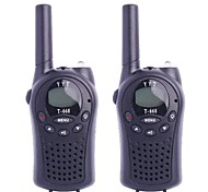 T-668 0.5W 4V FRS 22-Channel Walkie talkie per bambini (2 pezzi)