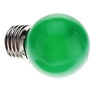 0.5W E26/E27 LED Kugelbirnen G45 7 Leds Dip - Leuchtdiode 50lm Grün Dekorativ AC 220-240