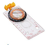 Professional Map Measure Compass with Pendant -Transparent