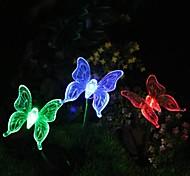 abordables -Iluminación de jardín LED LED Recargable Decorativa 1pc