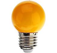 1W E26/E27 Lampadine globo LED G45 7 leds Capsula LED 90lm Luce fredda Blu Giallo Verde Rosso Decorativo AC 220-240
