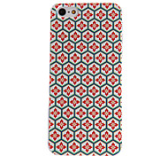 For iPhone 5 Case Pattern Case Back Cover Case Geometric Pattern Hard PCiPhone 7 Plus / iPhone 7 / iPhone 6s Plus/6 Plus / iPhone 6s/6 /