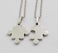 Men's Women's Pendant Necklaces Titanium Steel Fashion Jewelry For Daily Casual