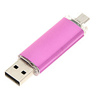 Недорогие -4gb usb disk cool shine usb / micro usb otg flash drive