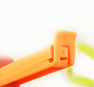 economico -Clip di tenuta di colore della caramella di plastica (5pcs, colore casuale)
