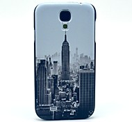 Famous New York Building Pattern Plastic Protective Back Cover for Samsung Galaxy S4 I9500