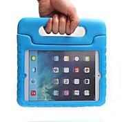 Недорогие -Кейс для Назначение Apple Защита от удара / со стендом / Безопасно для детей Кейс на заднюю панель Однотонный Этиленвинилацетат для iPad Mini 3/2/1