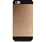 Para Capinha iPhone 5 Espelho Capinha Capa Traseira Capinha Cor Única Rígida Alumínio iPhone SE/5s/5