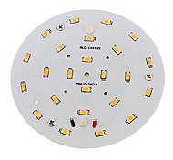 cheap -800-900 lm LED Ceiling Lights 24 leds SMD 5730 Decorative Warm White AC 100-240V