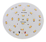 Luci da soffitto 24 leds SMD 5730 Decorativo Bianco caldo 800-900lm 2700-3200K AC 100-240V