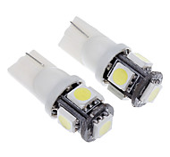 T10 Car Cold White 1.5W 6000 Instrument Light Reading Light