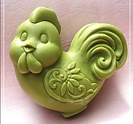 Chicken  Shaped Bake Mold, W7cm x L5.3cm x H3cm