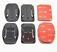 Клейкий Монтаж Для Экшн камера Gopro 5 Gopro 3 Gopro 2 Gopro 3+ Универсальный Авто Армия Езда на снегоходах Авиация Кино и Музыка Охота и