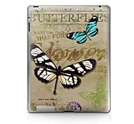 Недорогие -Защитная наклейка для бабочки для ipad 1/2/3/4 ipad наклейки для кожи