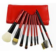Makeup Brushes Set 9pcs Cosmetic Beauty Care Makeup for Face