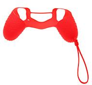 Недорогие -Новый дизайн Защитный силиконовый чехол с цепочкой для PS4 Controller