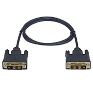 lwm ™ Premium High-Speed-DVI-D-Stecker auf Stecker Kabel 3ft 1m für PC-Monitor HDTV 1080p-Video