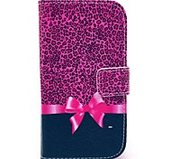 cheap -Case For Samsung Galaxy Samsung Galaxy Case Card Holder Wallet with Stand Flip Pattern Full Body Cases Leopard Print PU Leather for Core