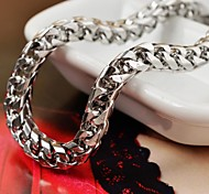 Vintage Men's Silver Stainless Steel Shake Chain Bracelet Christmas Gifts