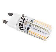 cheap -2W 250-350 lm G9 LED Corn Lights T 58 leds SMD 3014 Warm White AC 220-240V