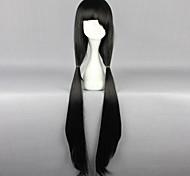 Косплэй парики Date A Live Kurumi Tokisaki Черный Длиные Аниме Косплэй парики 100 CM Термостойкое волокно Женский