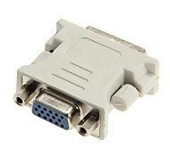 Недорогие -DVI 24 +5 мужчин и женщин VGA адаптер ключ