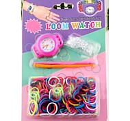 Z&x® ткацкий станок watchd DIY радуга ткацкие резинкой часы костюмы