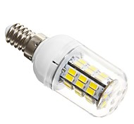 5W E14 LED Corn Lights T 42 leds SMD 5730 Cold White 450-500lm 6000K AC 12V
