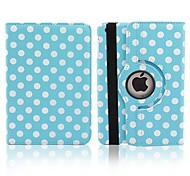 baratos -Capinha Para iPad Air Folio 360⁰ caso Poá PU Leather para